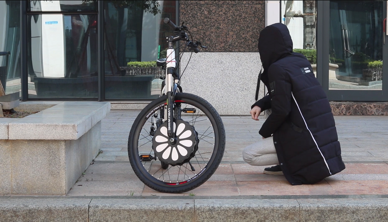 Bicycle anti-theft function video