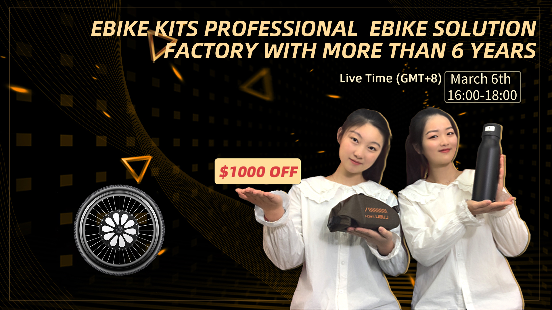 Lvbu ebike kit March live show