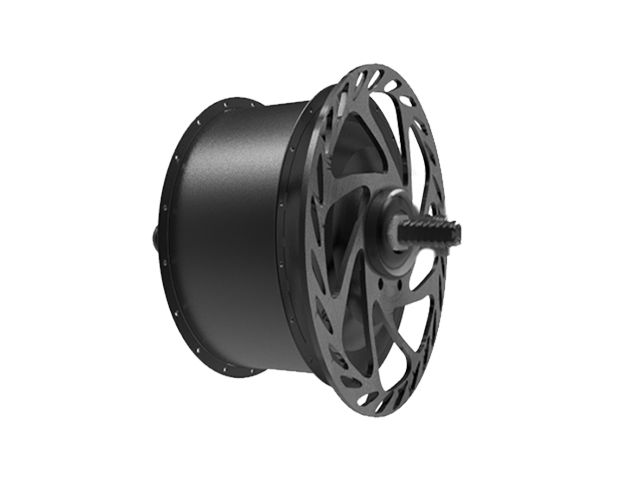 Front outer rotor motor