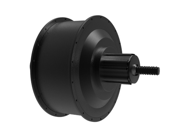 Rear out rotor motor